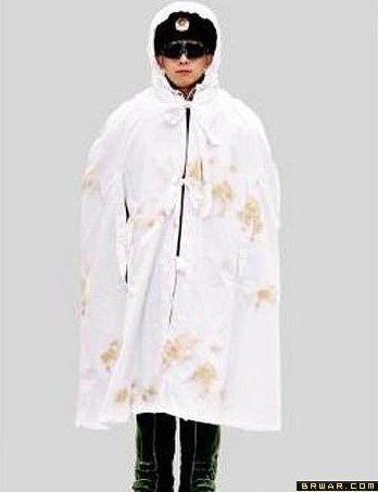 官、士兵更换仿毛料冬服.新式士兵常服采用全里、全衬的毛料服装制图片