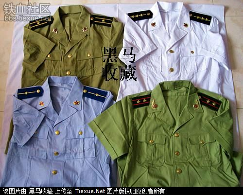 科普 中国武警常服87式到07式的变迁图片
