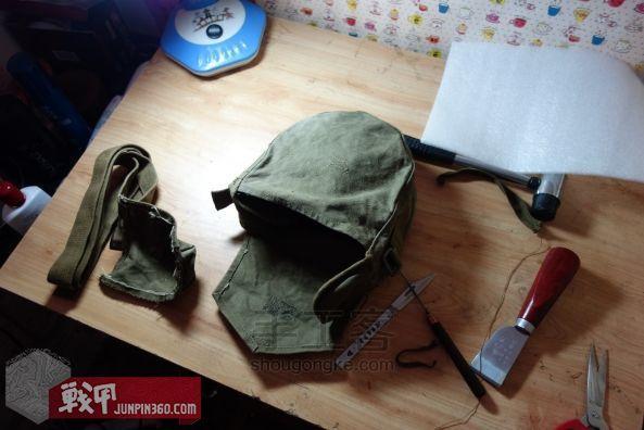 从弹夹袋到相机包-一款老帆布的改造教程 第5步