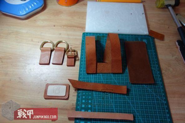 从弹夹袋到相机包-一款老帆布的改造教程 第7步