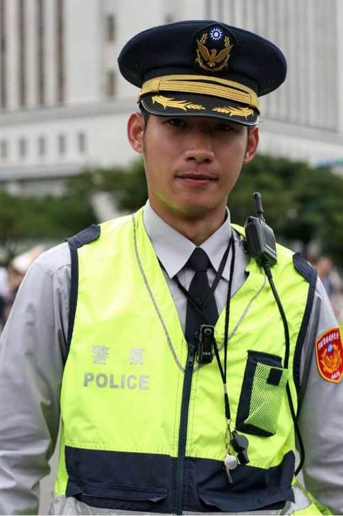 中国台湾警察及制服
