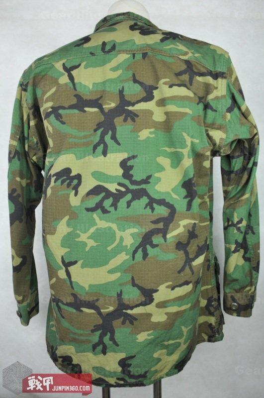 后期使用新印染的面料生产的RDF作战服