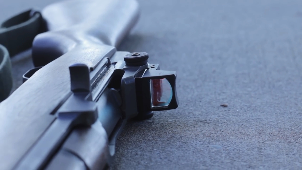 老树新花-安装RMR红点镜的M1步枪