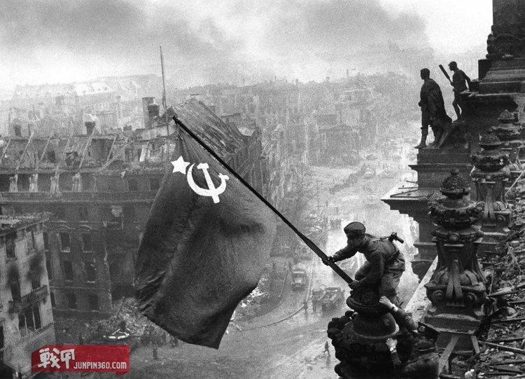 The Soviet flag over the Reichstag, 1945 (1).jpg