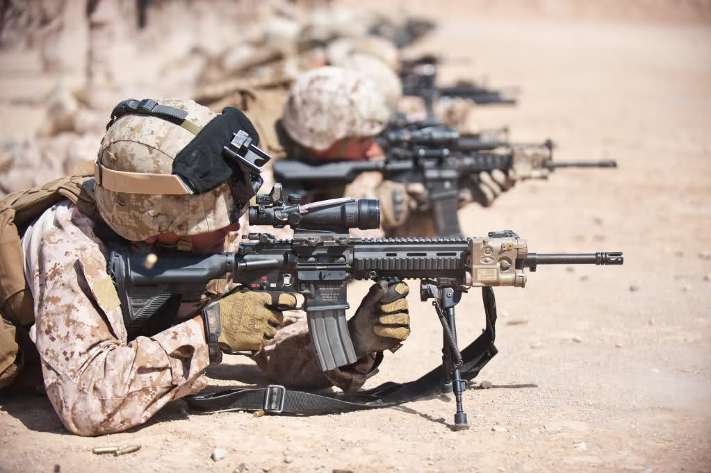 步枪手还是机枪手——从美国海军陆战队换装M27看其变革