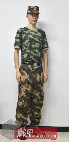 献礼八一 中国人民武装警察部队30年间作训服的变迁 6