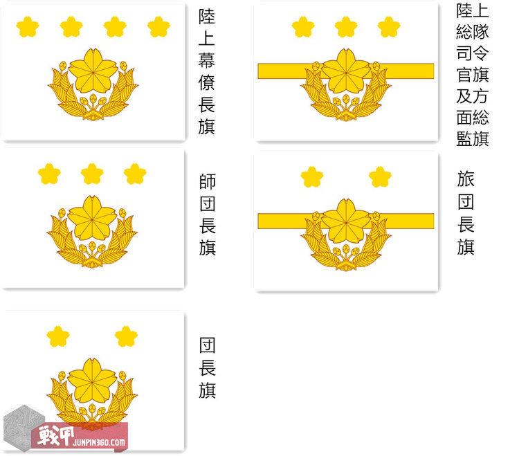 4 陆自指挥官旗帜一览.jpg