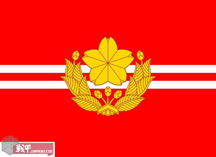 6 陆自的普通科大隊旗(相当于营级部队).png