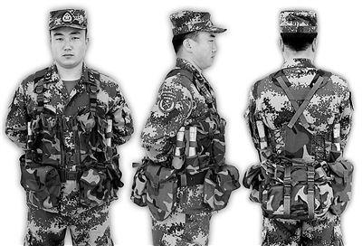 解放军95式步枪手装具