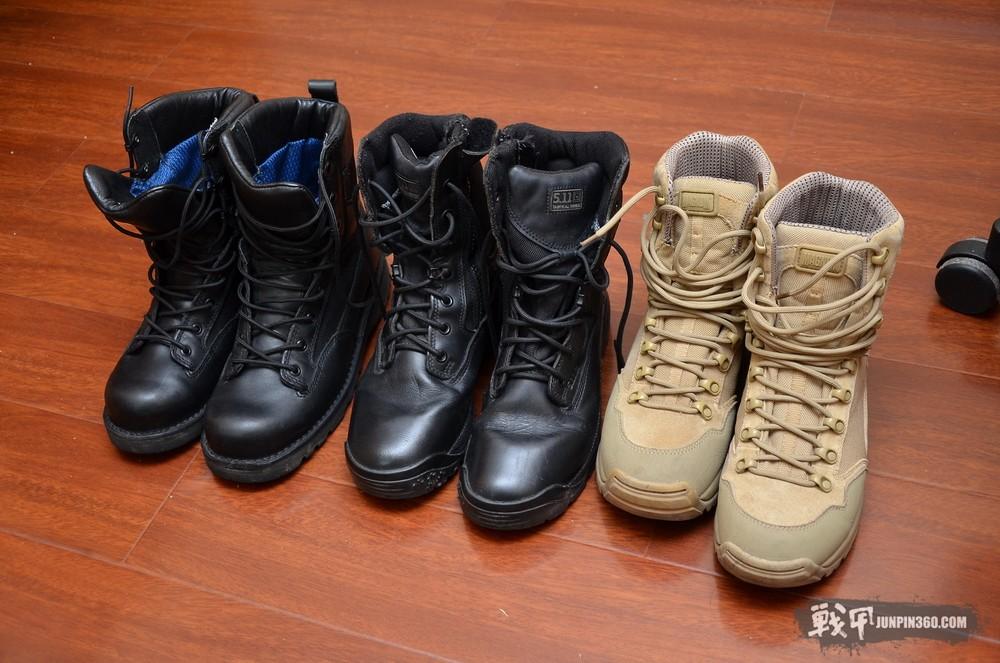 晒军靴对比测评:Danner 69220,511 12004,马格南沙漠眼镜蛇