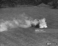 一场激烈的空战后,一架德机被击落
