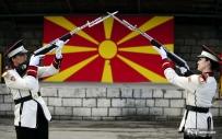 太阳旗下的仪仗队女兵