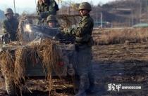 """""""协作精神-83""""美韩军事演习"""