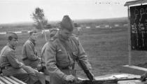 苏联近卫ГСВГ坦克师演习