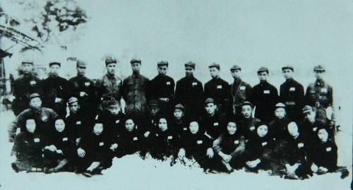 解放战争布标系列之一:浙东人民解放军金萧游击支队胸章