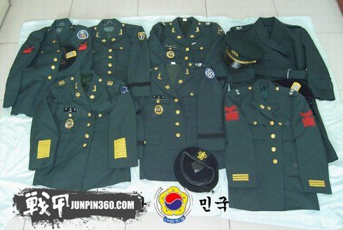 小议韩剧中出现的一些韩国陆军服饰
