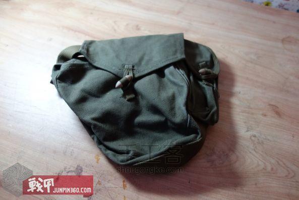 从弹夹袋到相机包-一款老帆布的改造教程 第1步