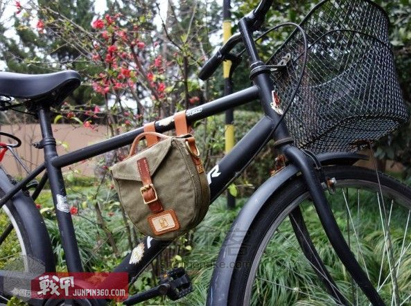从弹夹袋到相机包-一款老帆布的改造教程