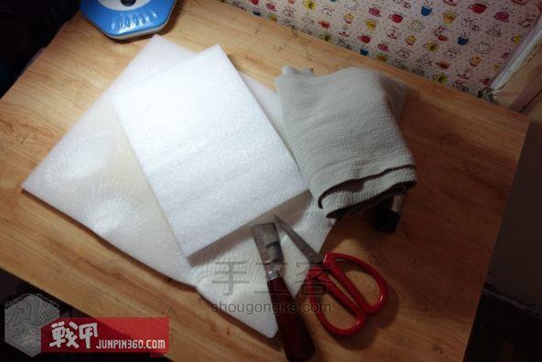 从弹夹袋到相机包-一款老帆布的改造教程 第4步