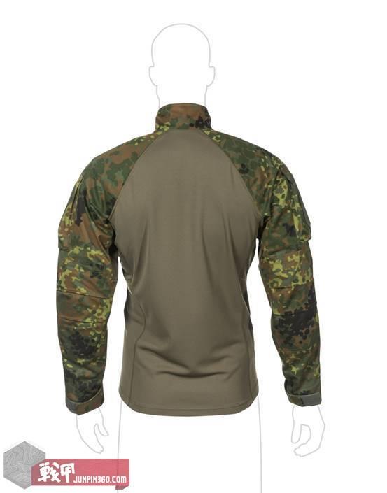 说明: D:\previous of some productes\UFpro\UF PRO copy\UF PRO Product Images\3. Shirts\Striker XT Camo Combat Shirt\Striker XT Combat Shirt Flecktarn Back view.jpg