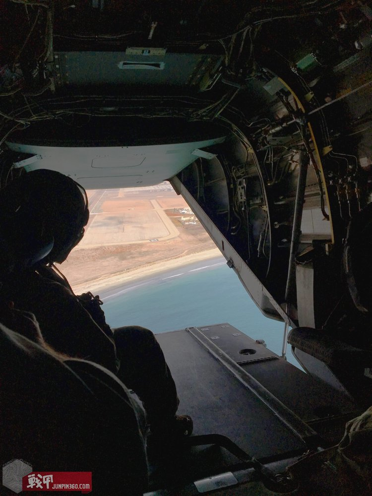 This was my view upon leaving North Island Naval Air Station for the first time in an MV-22B.