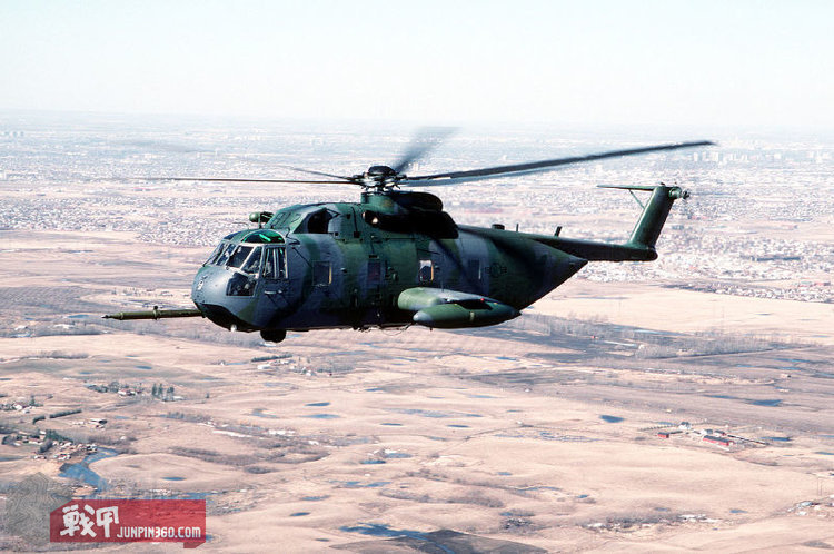 """空军""""欢乐的绿巨人""""直升机(HH-53)"""