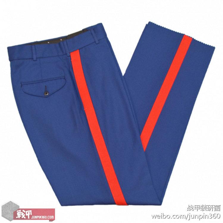 ■士官版礼服裤,血条2.8厘米宽。