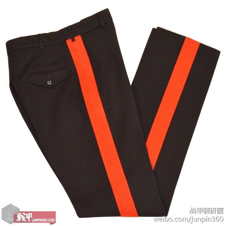 ■尉官及校官版礼服裤,血条5.1厘米宽。