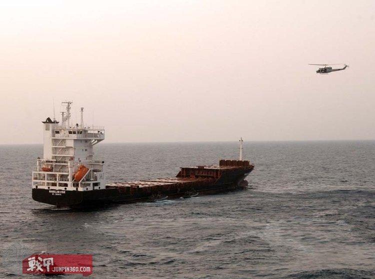 """2010年9月8日上午,""""麦哲伦之星""""号货轮在亚丁湾遭到海盗劫持。"""