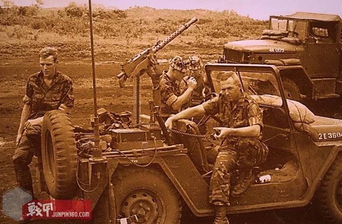 403rd SOD, 1968年摄于越南