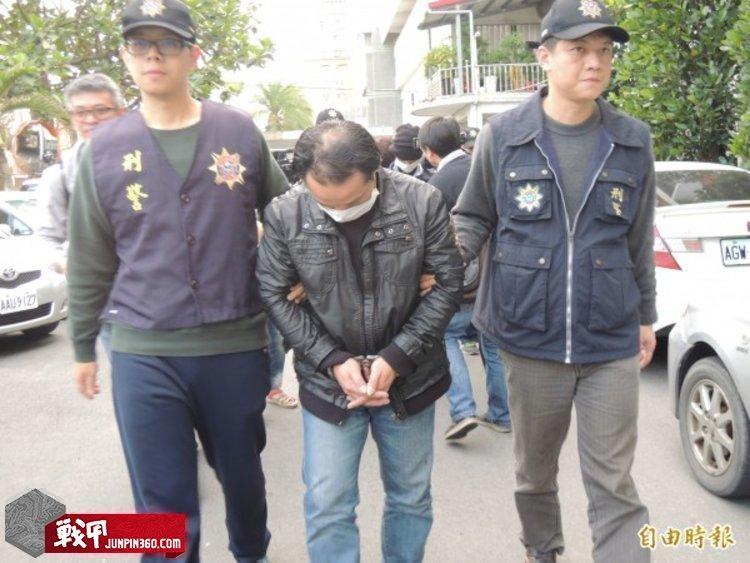 宜蘭警方查獲外勞毒品專賣店,拘提劉姓主嫌(中)到案.jpg