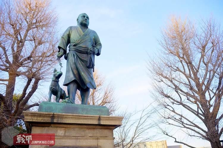 4 东京上野恩寵公園中的西鄉隆盛銅像.jpg