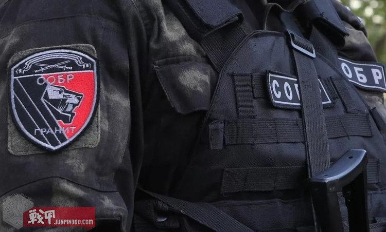 圣彼得堡SOBR臂章