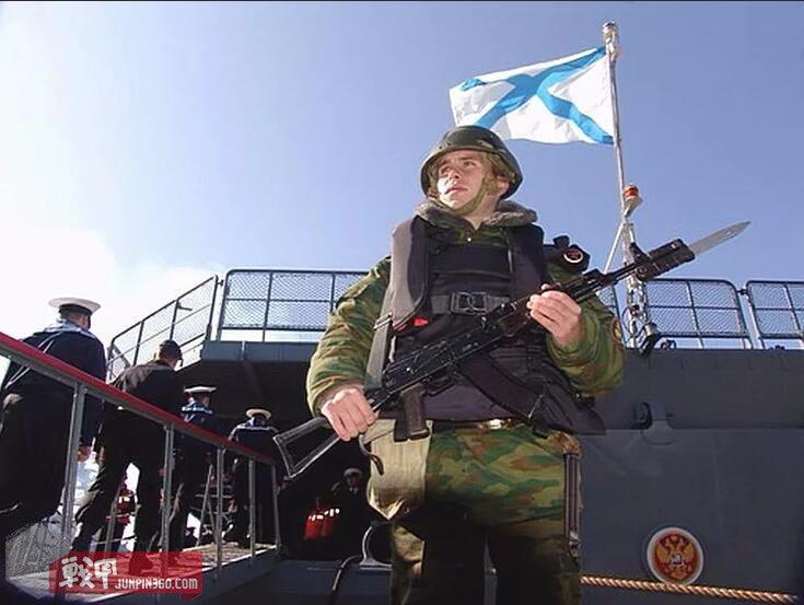 俄罗斯海军随舰步兵