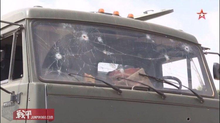 9.19遭到伏击的宪兵车辆